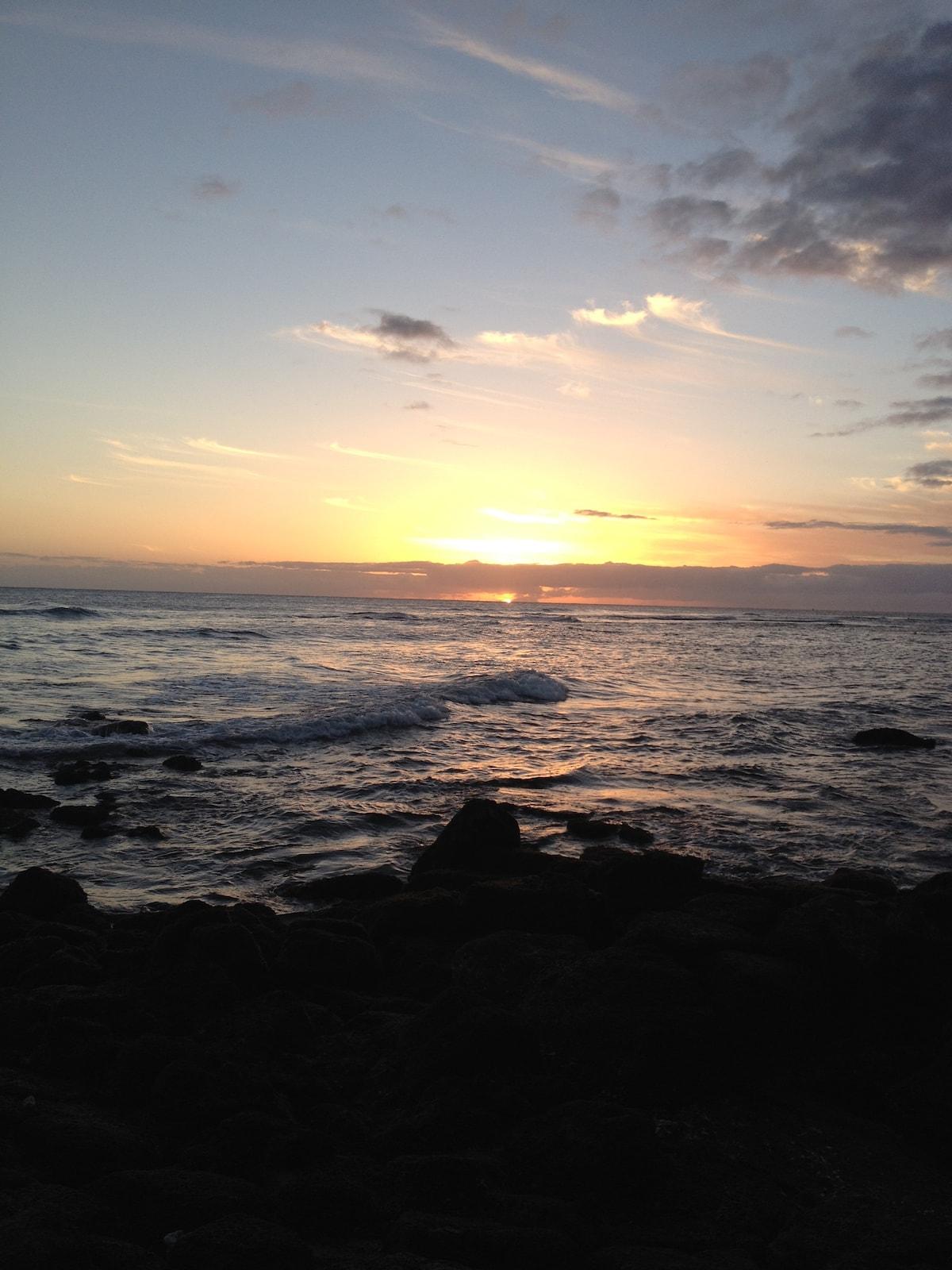 Ocean View Condo in Kauai