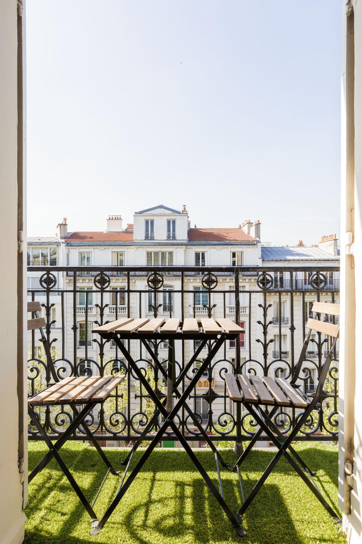 bastill 98m2-Big 3 bdr with terrace