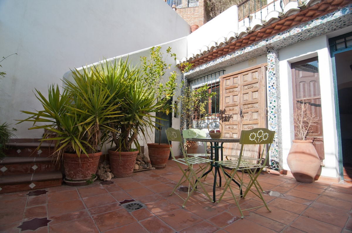 Charming house with patio, terrace