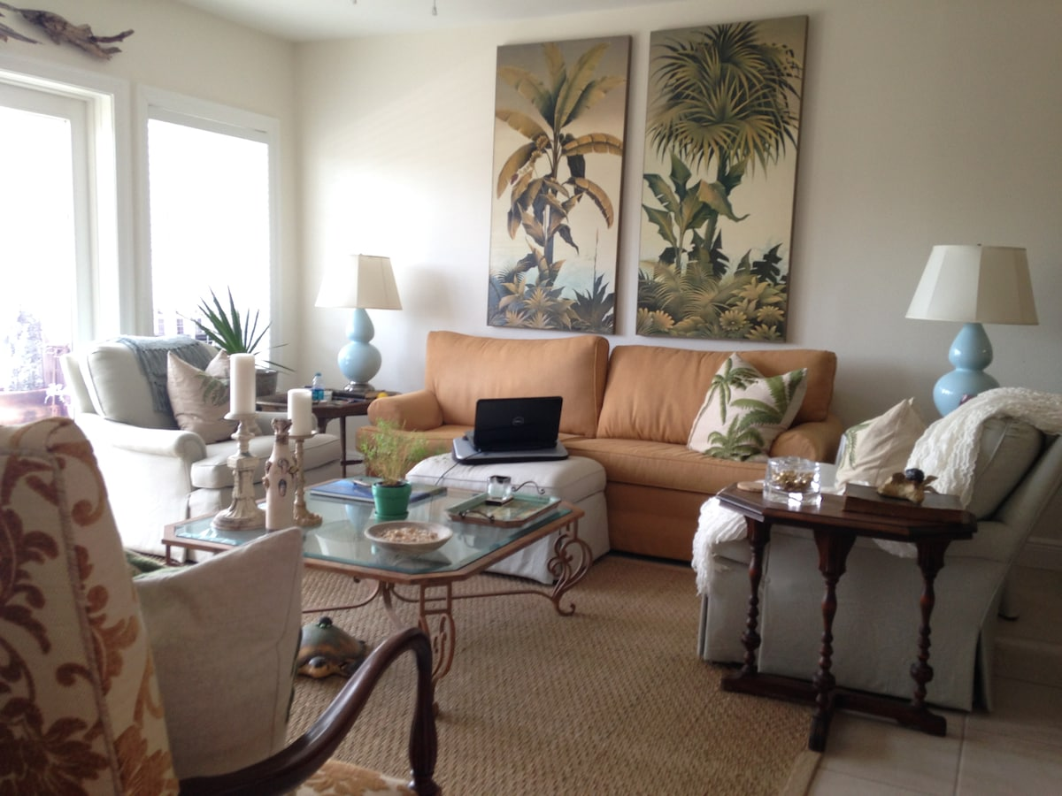 Seagrove Beach, Gulf View, 2 Q beds