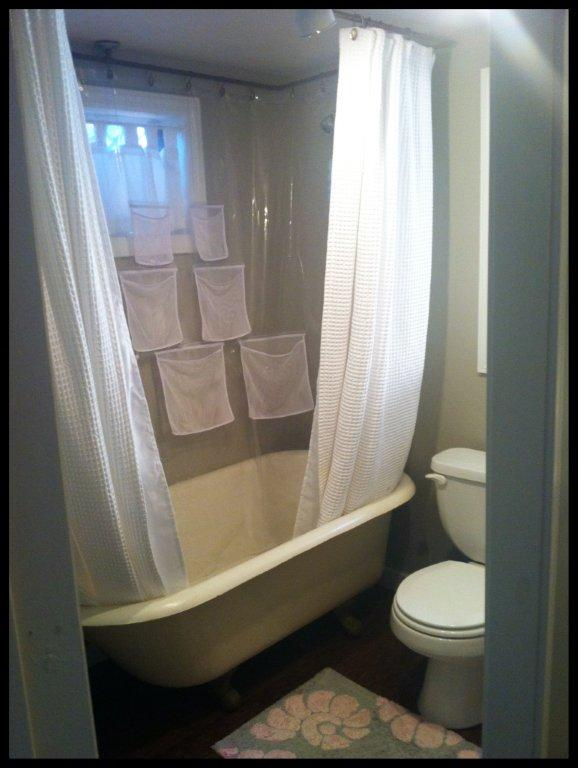 Another view of the shower.
