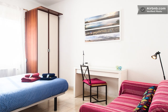Enjoy a silent bright spacious experience on your Barcelona stay.