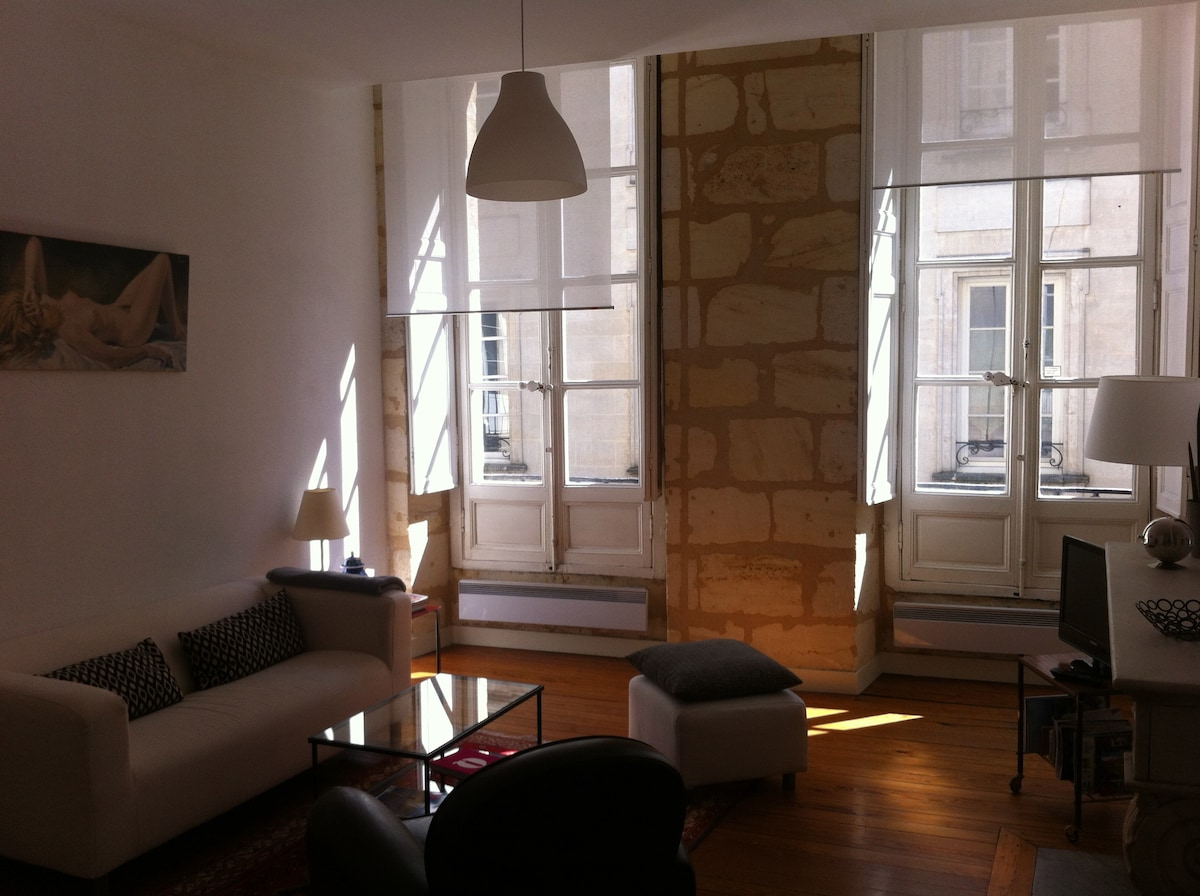 LOVELY 1 BEDROOM FLAT HEART OF BDX