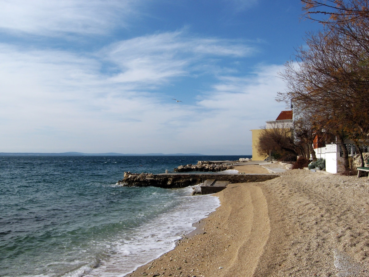 Dalmatia, House on the beach