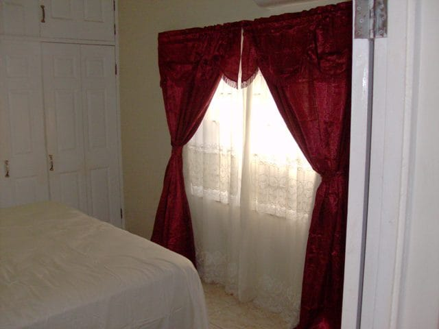 King size bed, A/C in room