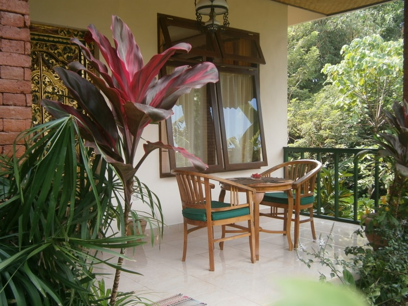 Your balcony - surrounded by greenery