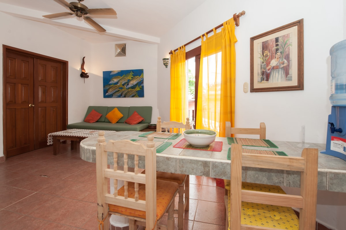 60usd for 3 pax/2 blocks from beach