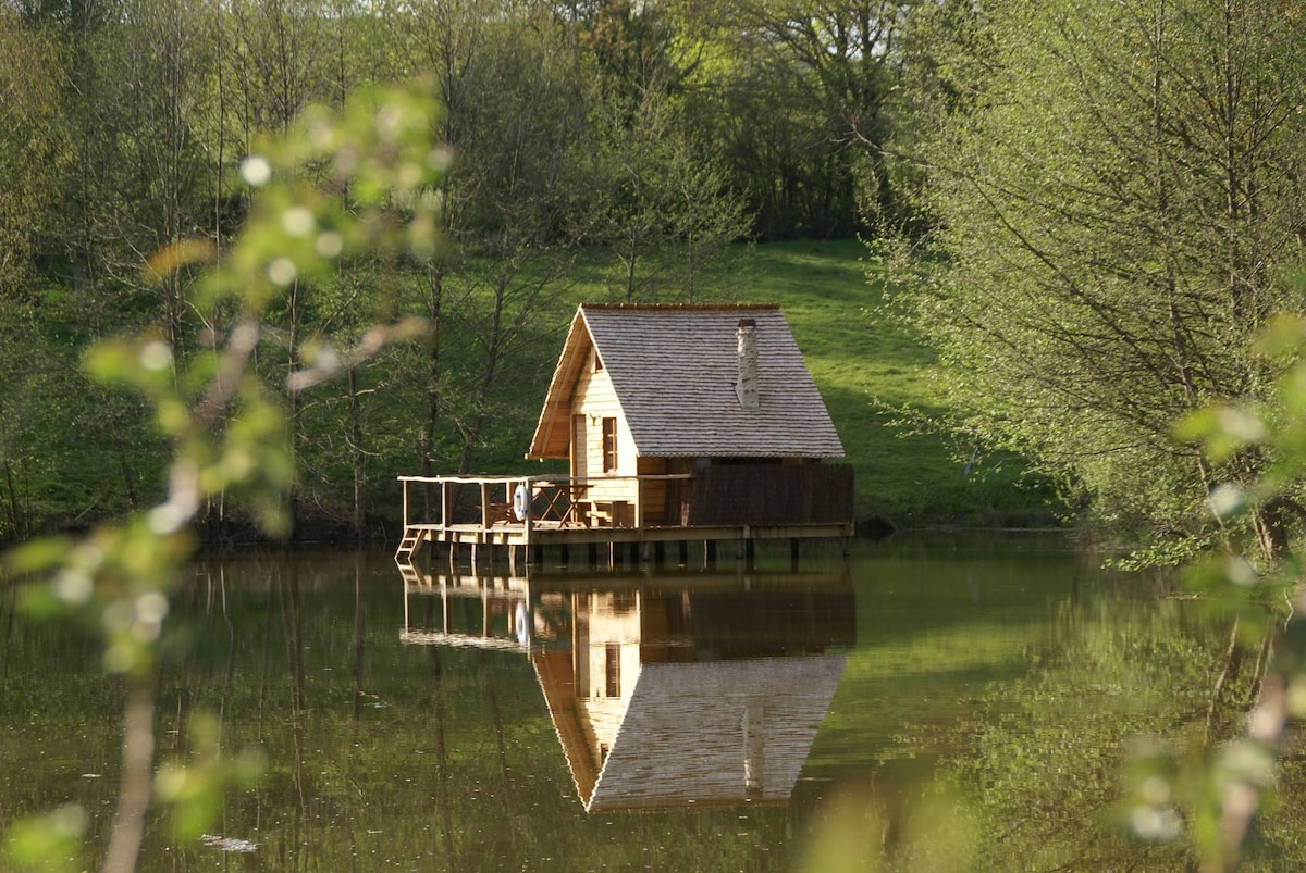 Cabane sur Pilotis Bourgogne