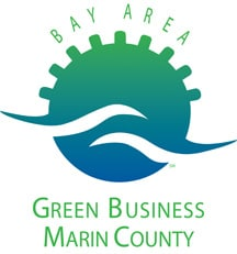 We are certified by Marin County and Bay Area Green Business to be a Green Sustainable Business