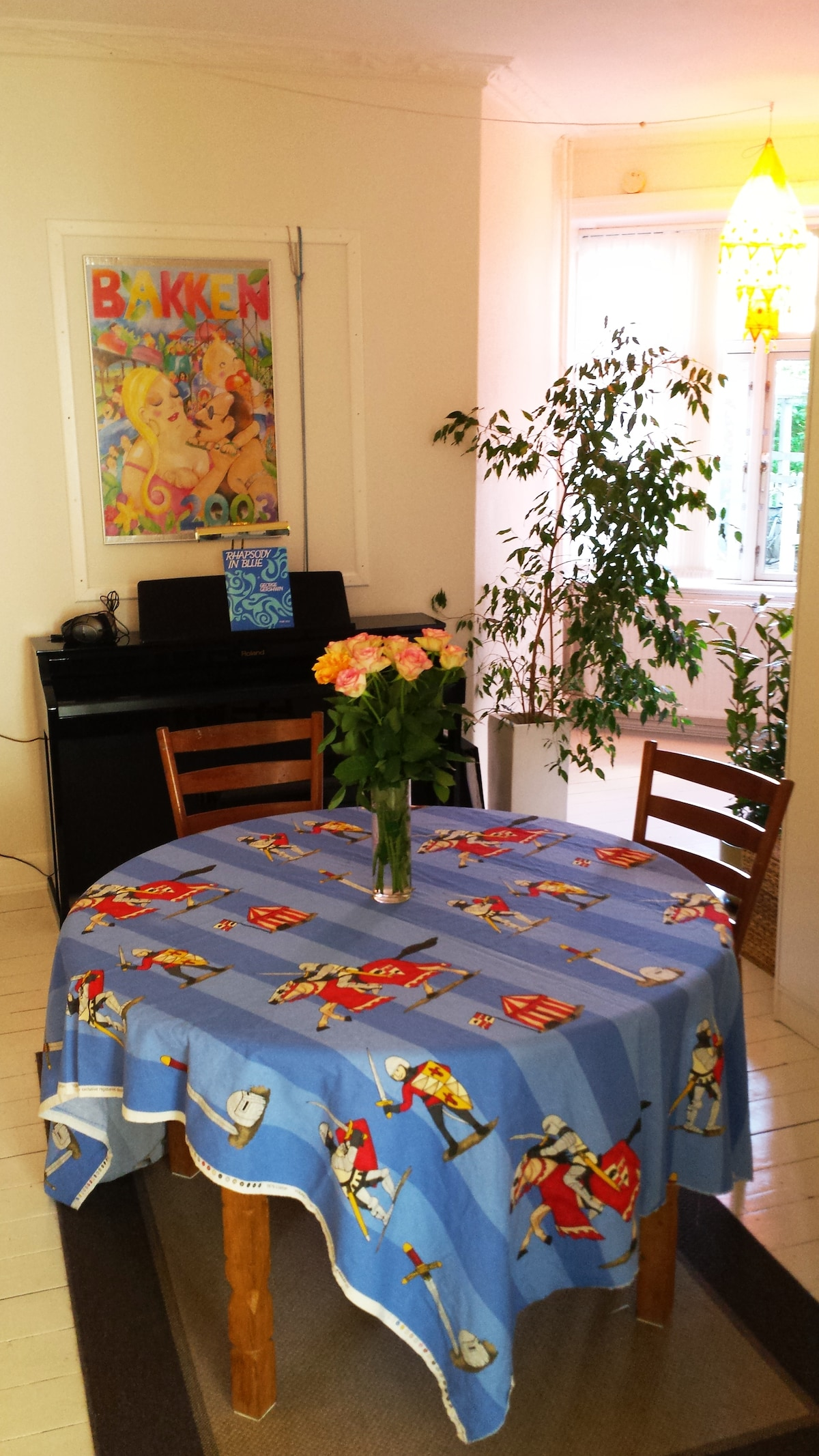 Nice big apartment for two persons