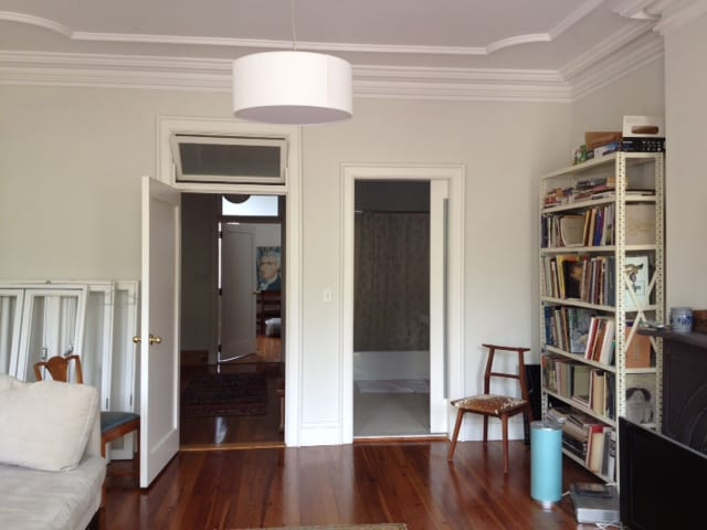 large bdroom, priv bth, priv living