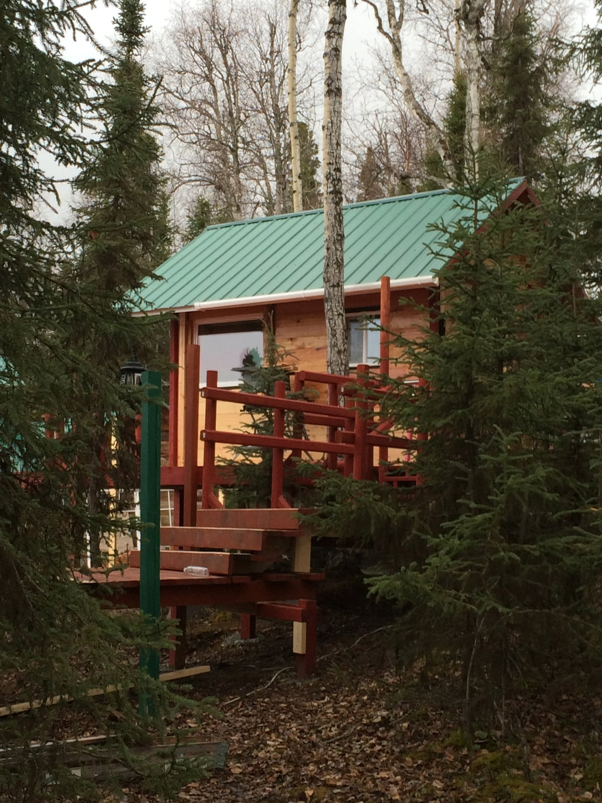 Soldotna, Alaska Cabin on lake!