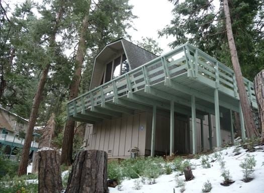 Treehouse in the Sky Mountain Home
