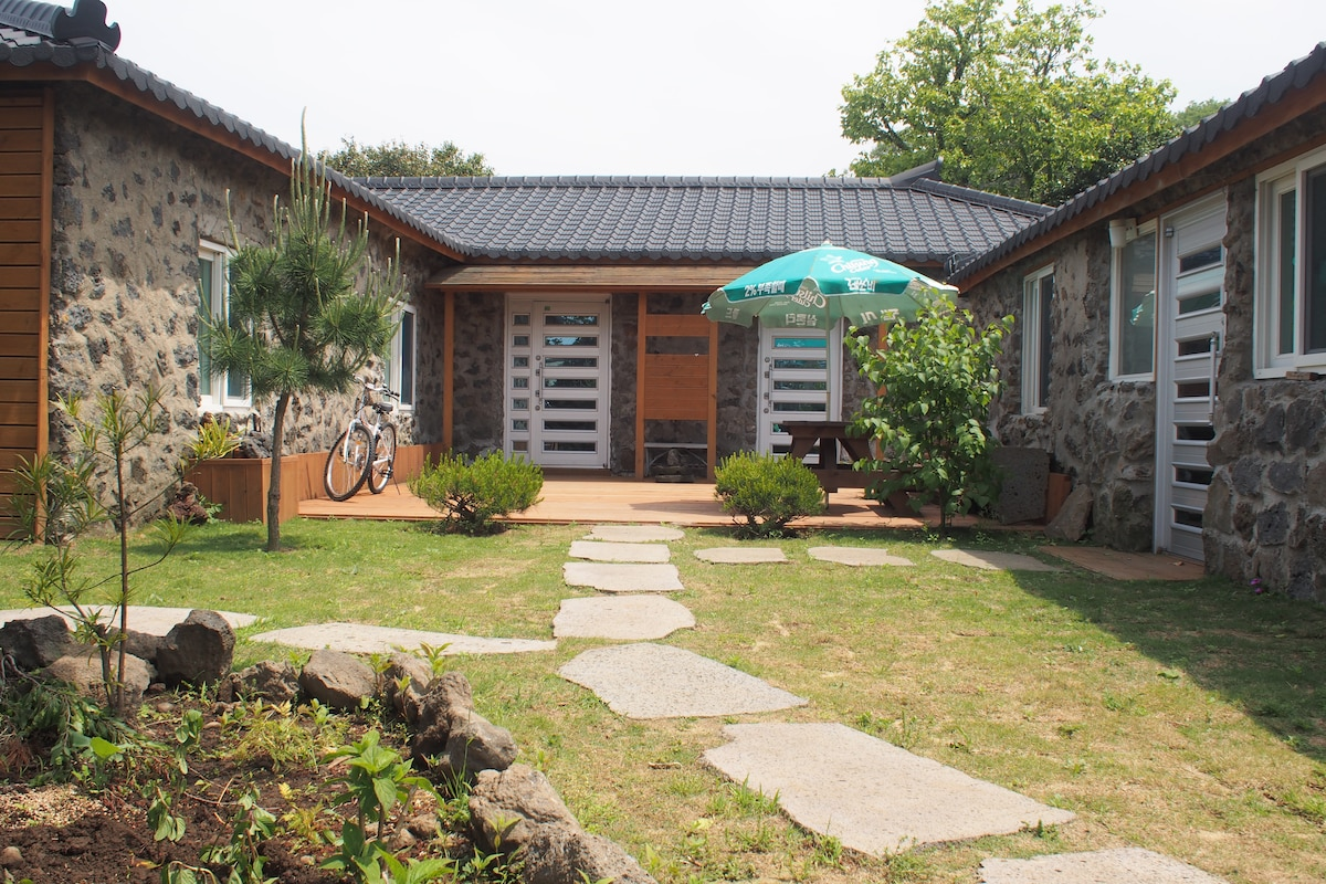 Jeju traditional house...