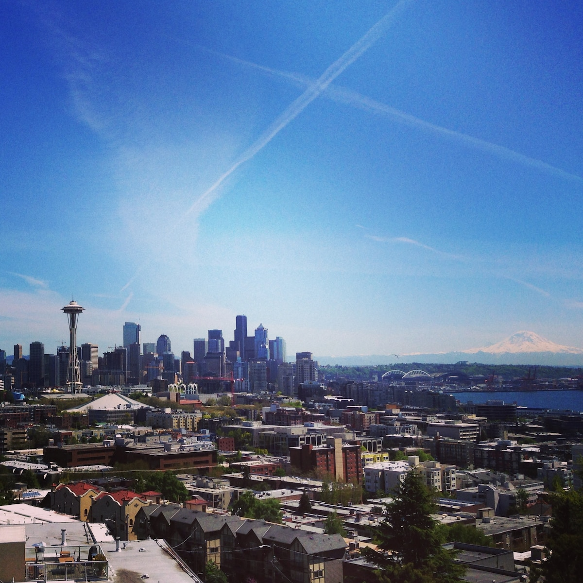 A view of all of Seattle
