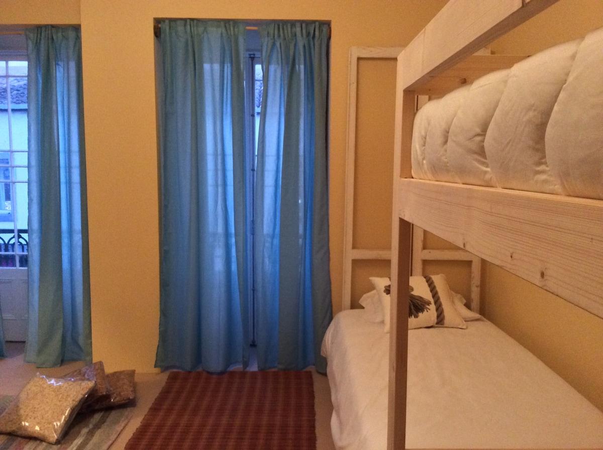 3B&B cama em quarto partilhado 4px