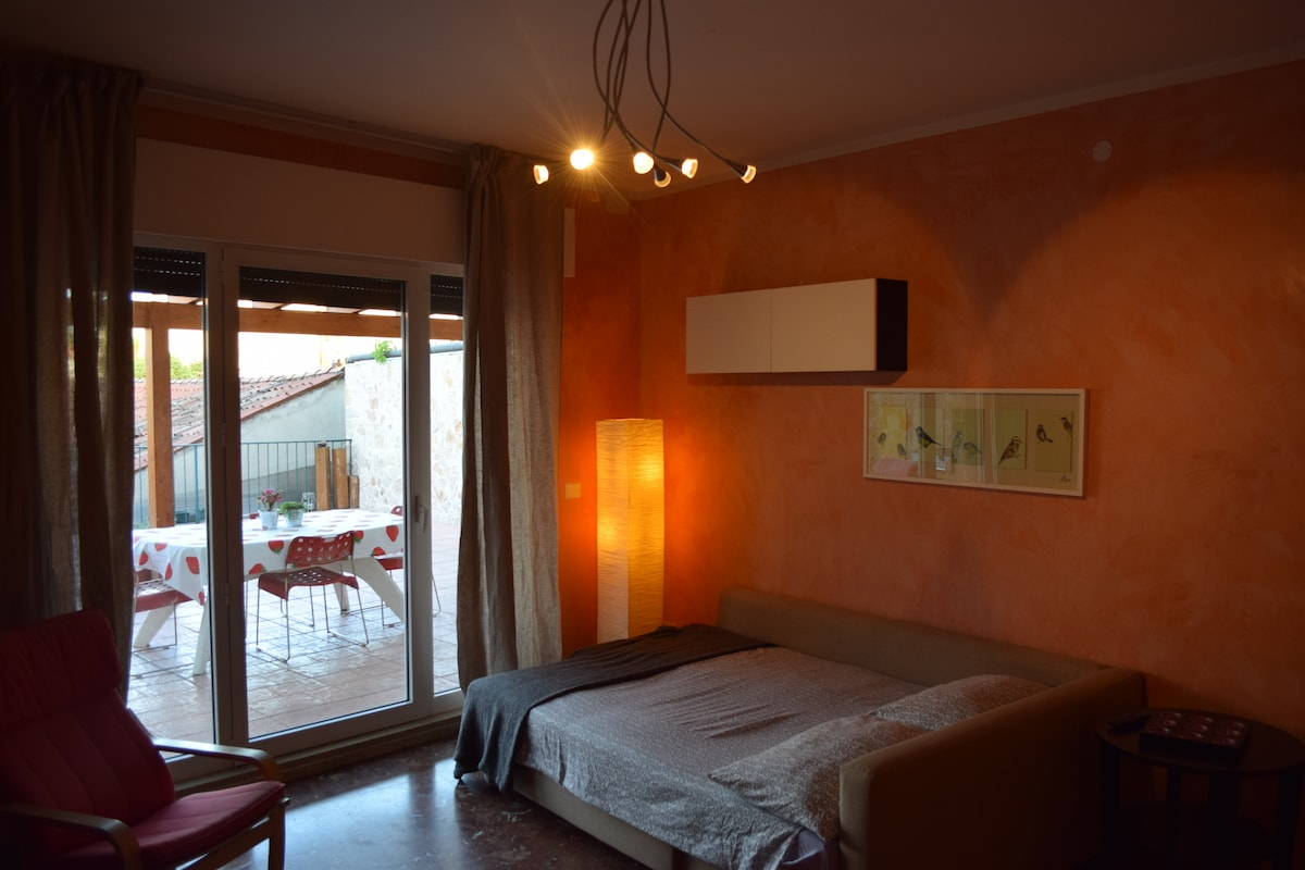 Double bedroom with terrace #1