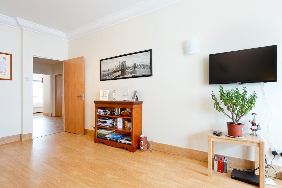 Living room and entrance hall