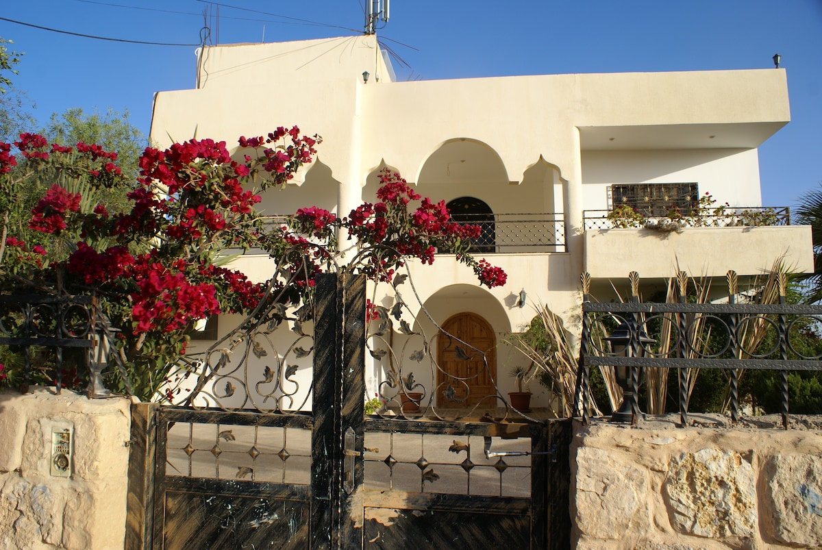 Villa overlooking Petra