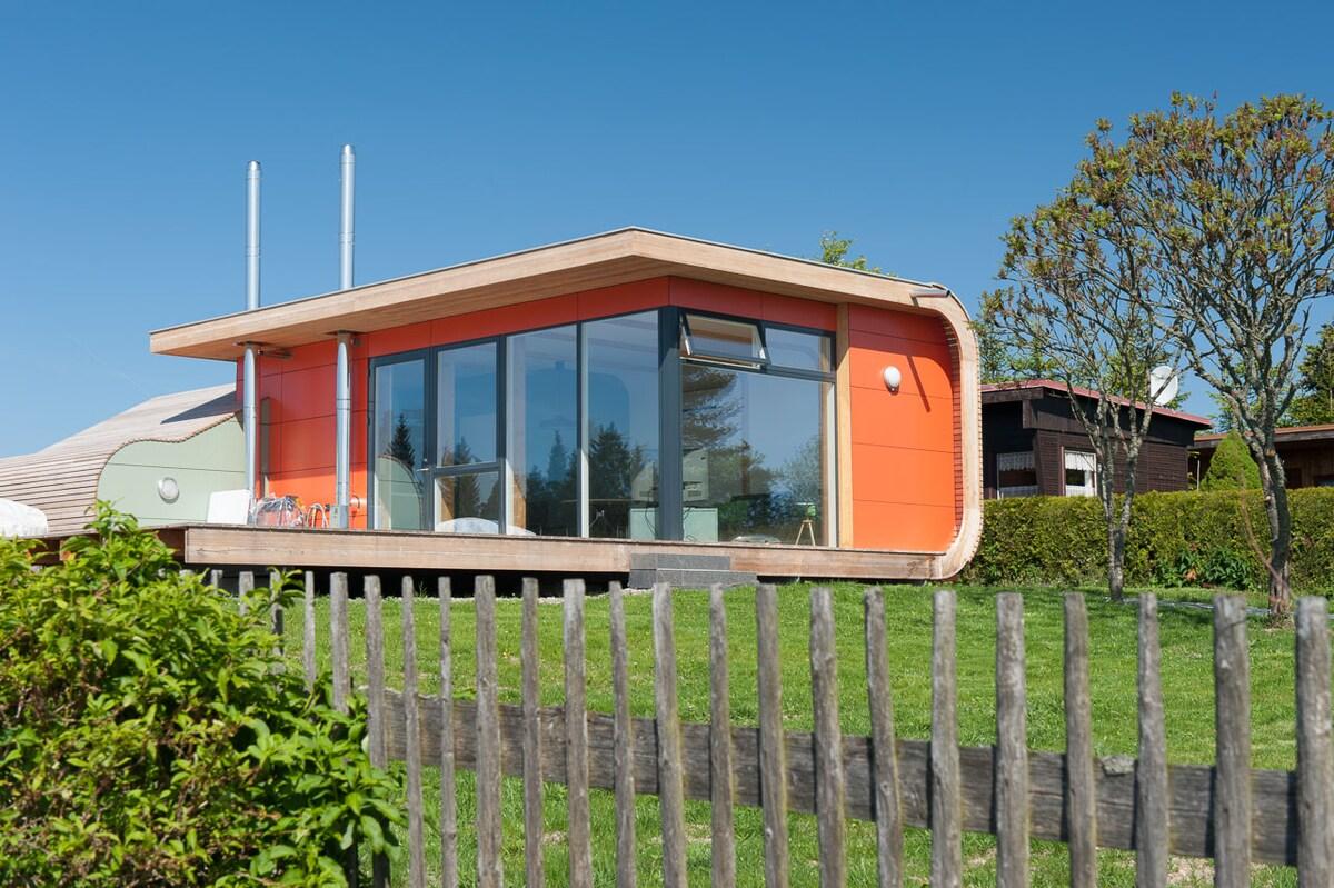 modernes Ferienhaus im Erzgebirge