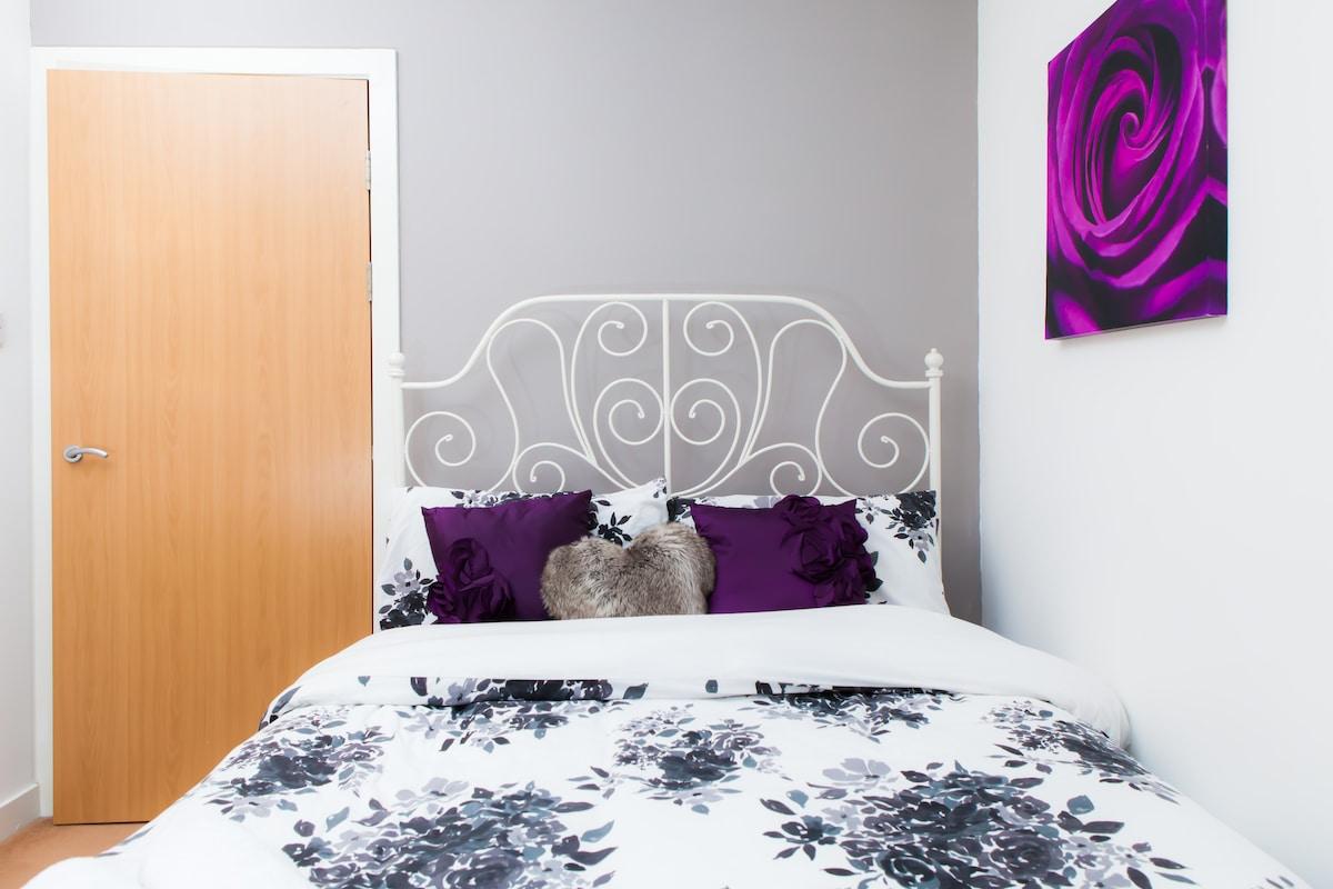 your bedroom - comfy nights sleep!