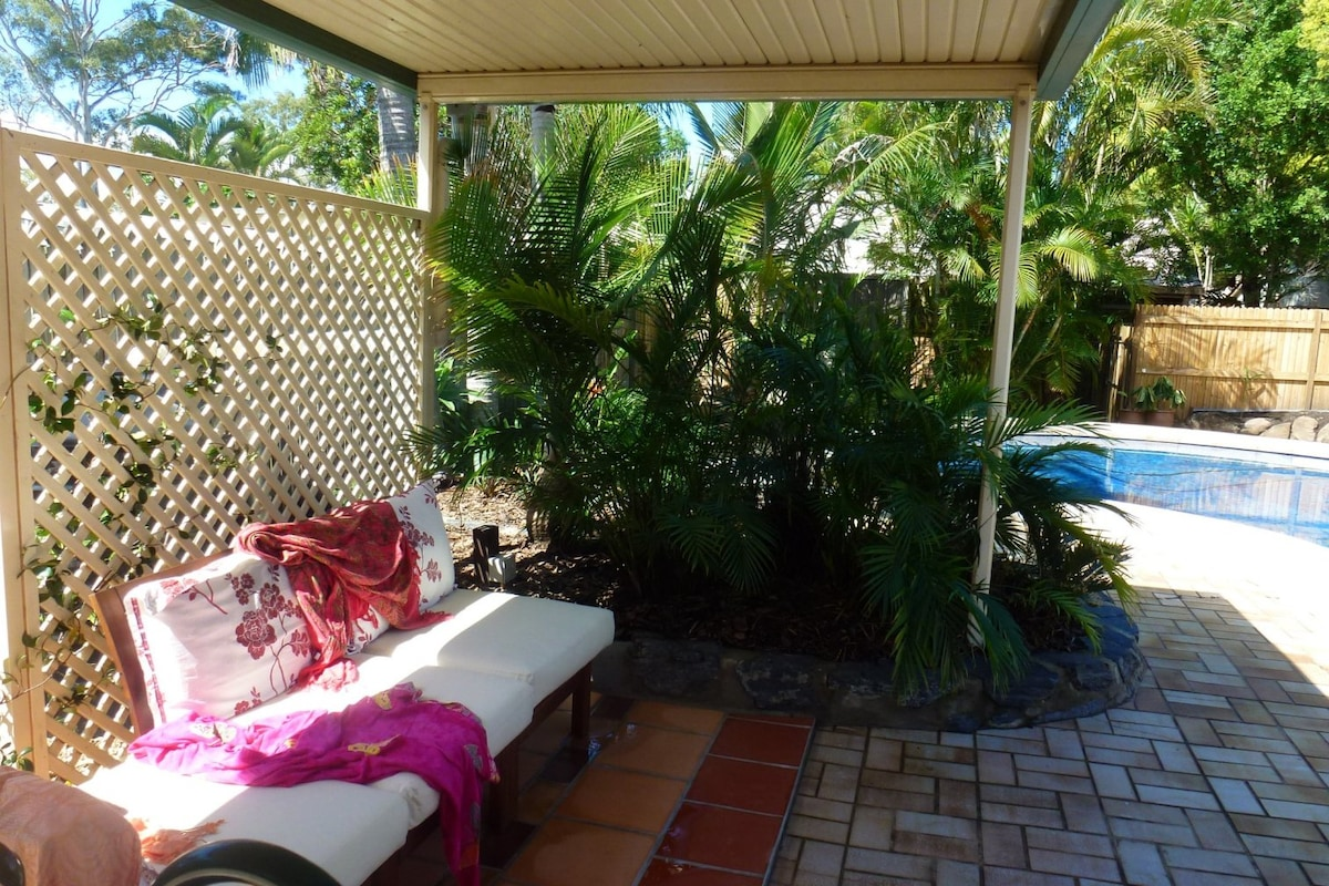 Manly Garden Studio at Moreton Bay