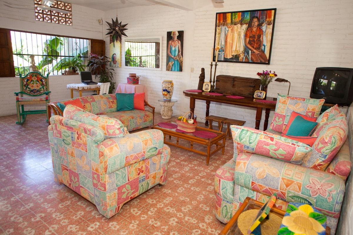 Can you see yourself sitting here and checking your email before you head out to the beach ?