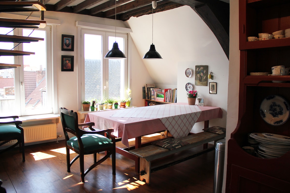 Cosy apartment on Great Market!