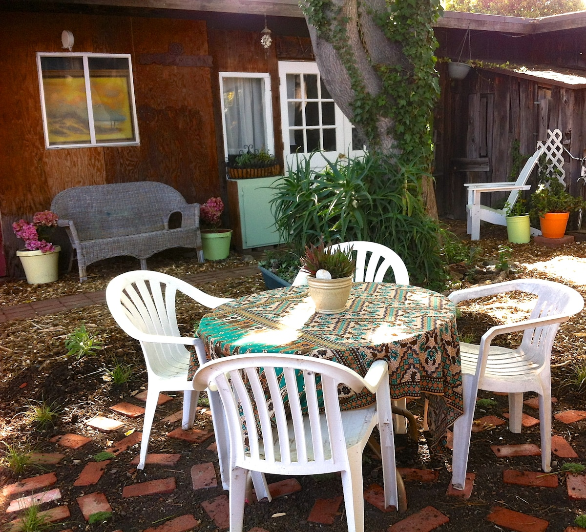 Relax and enjoy our garden retreat.