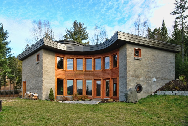 Modern country house in Lanaudière
