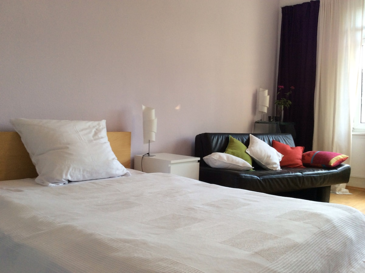 spacious 25m2 in the citycentre