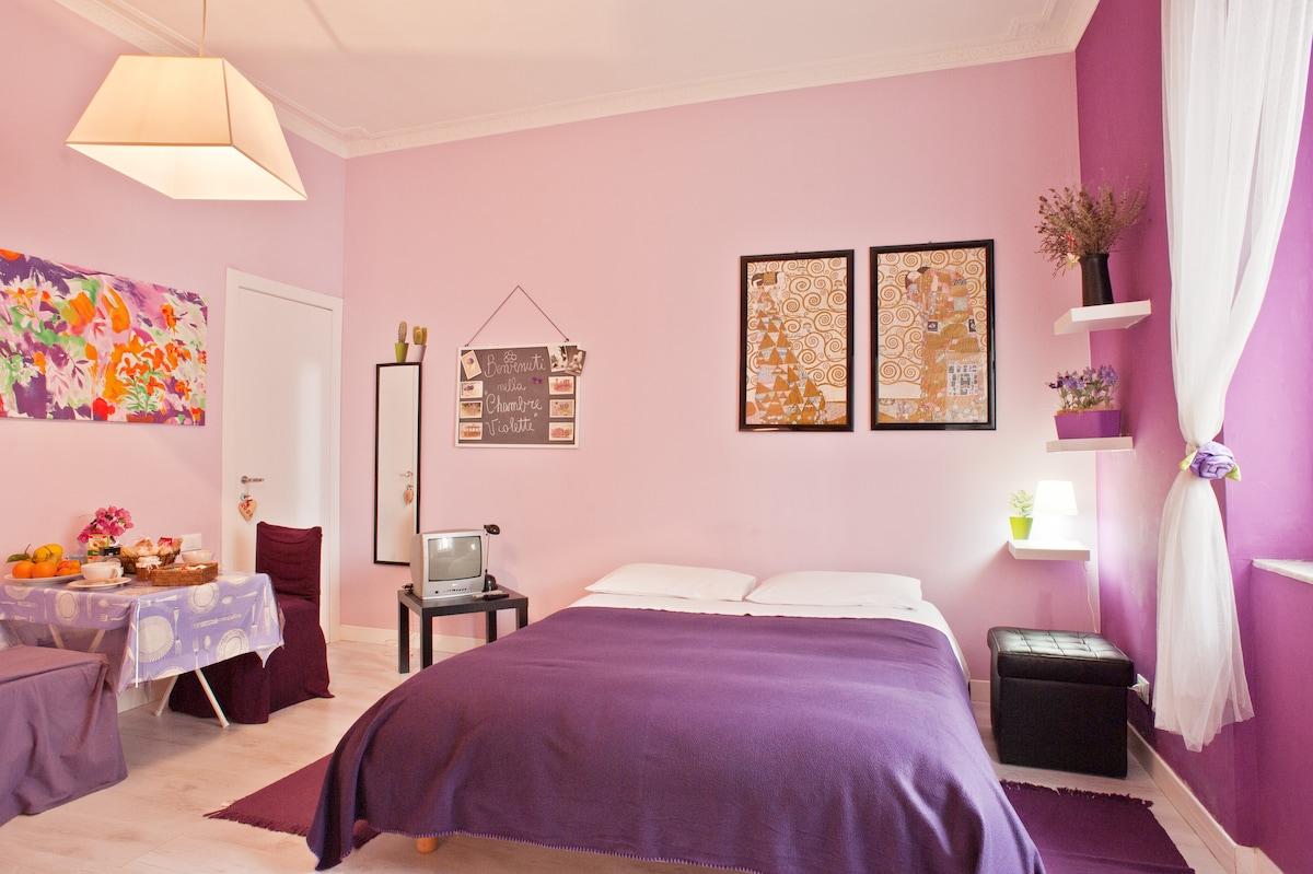 Chambre Violette (studio apt.) CA
