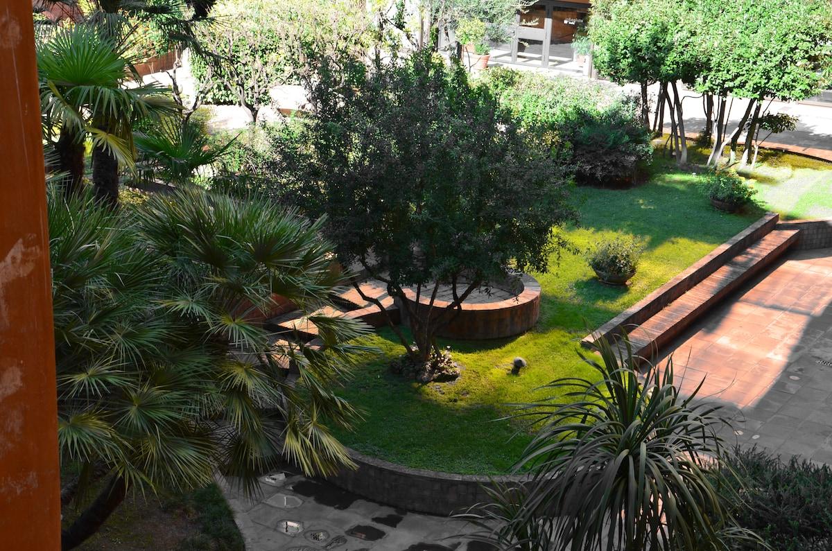 Il giardino condominiale