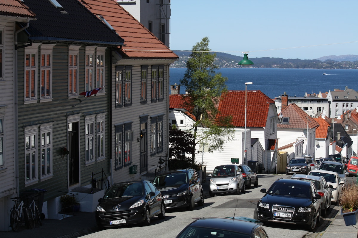 2 charming rooms in central Bergen