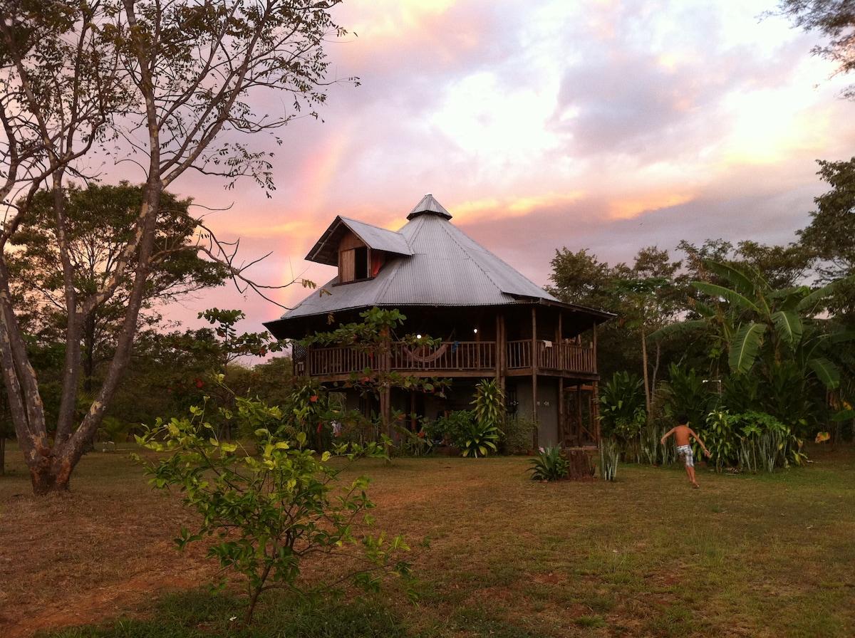 The rancho house (main house)