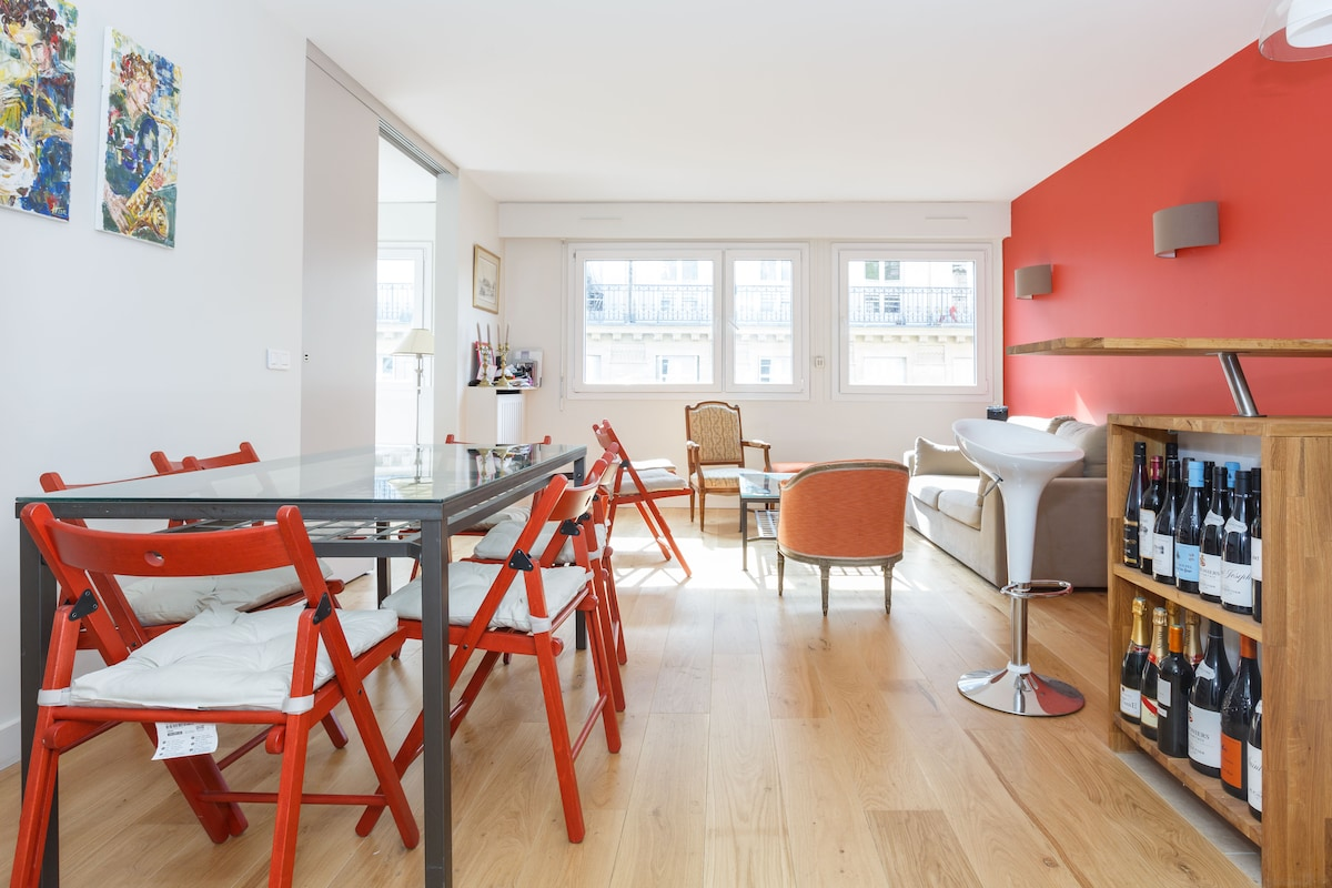 Two rooms flat, 45m²