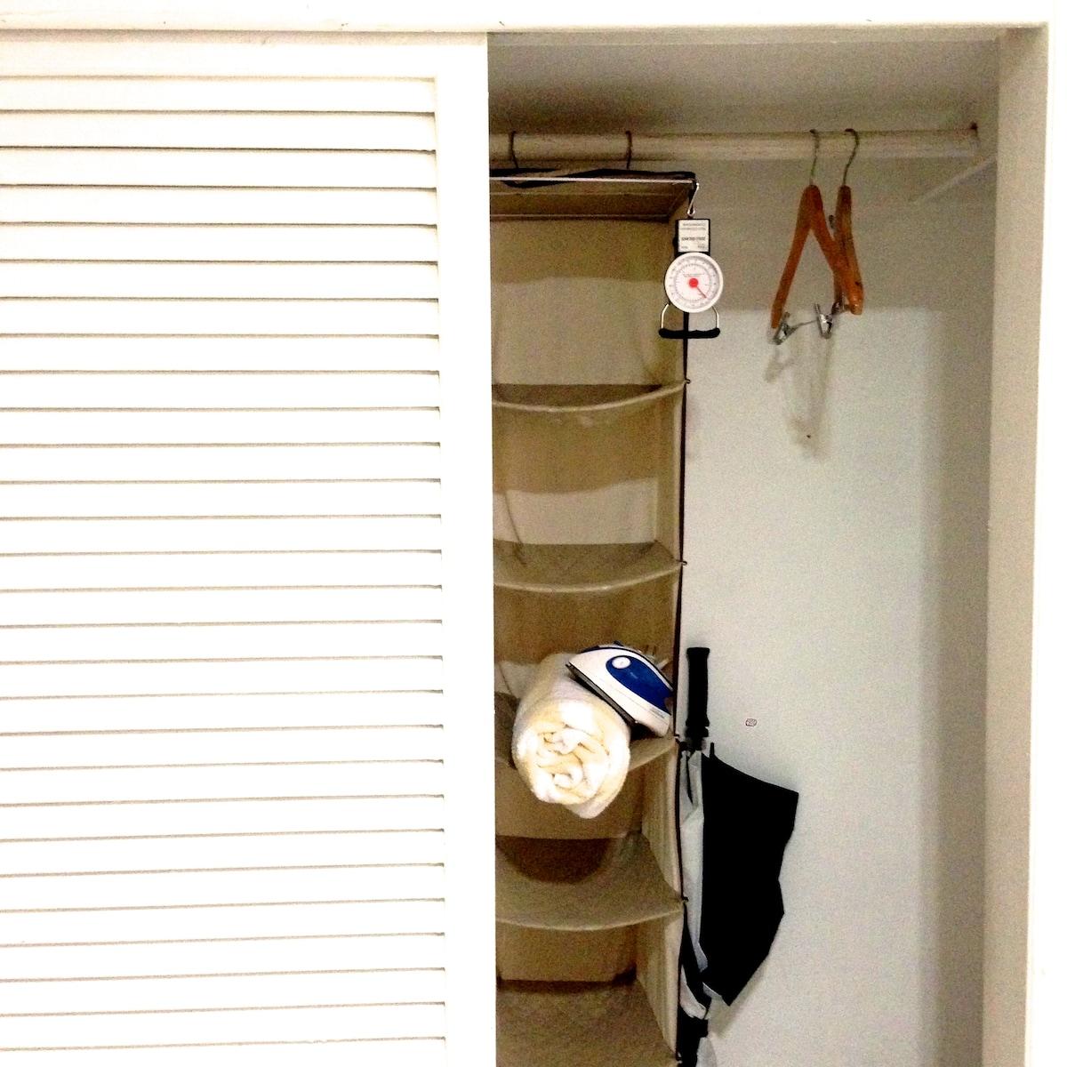 Your closet