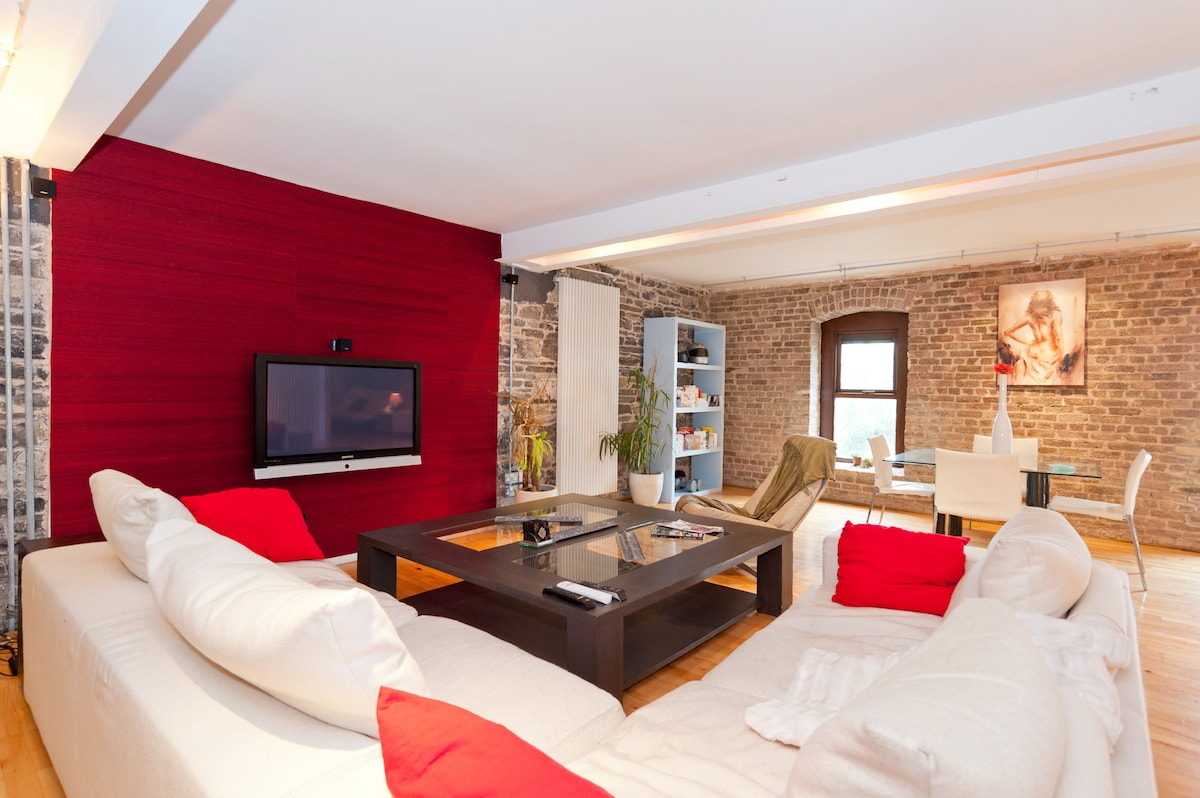 Central Lux 2Bedroom Loft Apartment