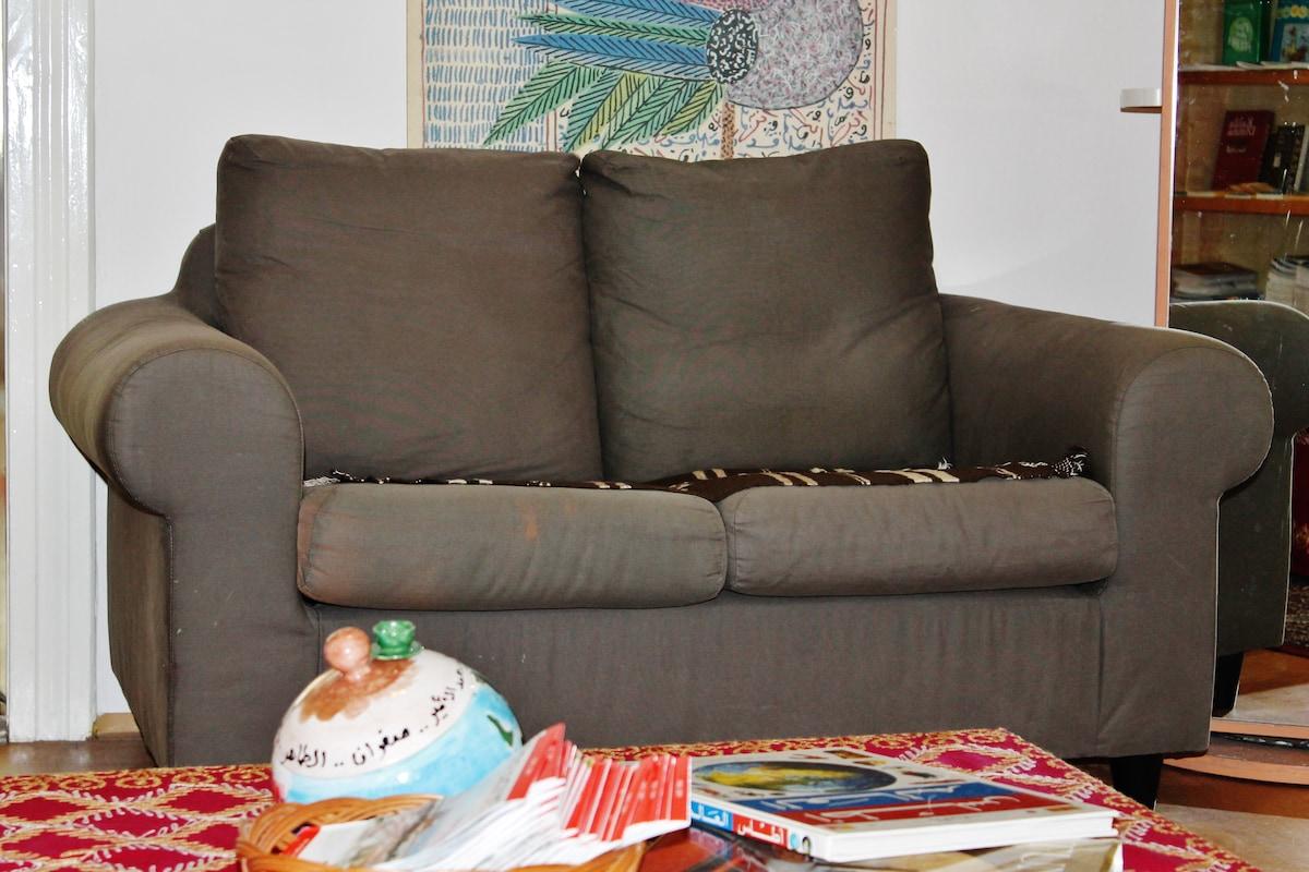Sofa in the common area