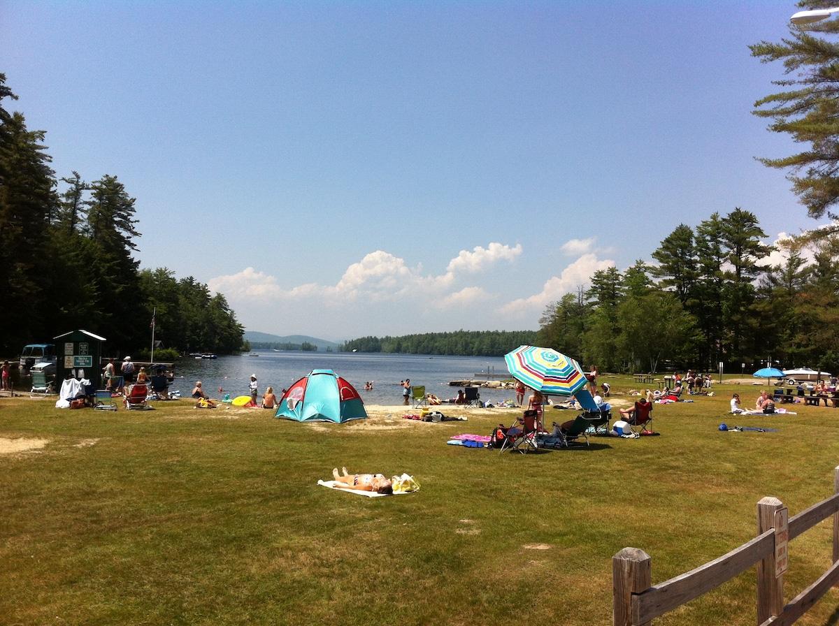 The Beach at Highland Lake; 1-minute walk.