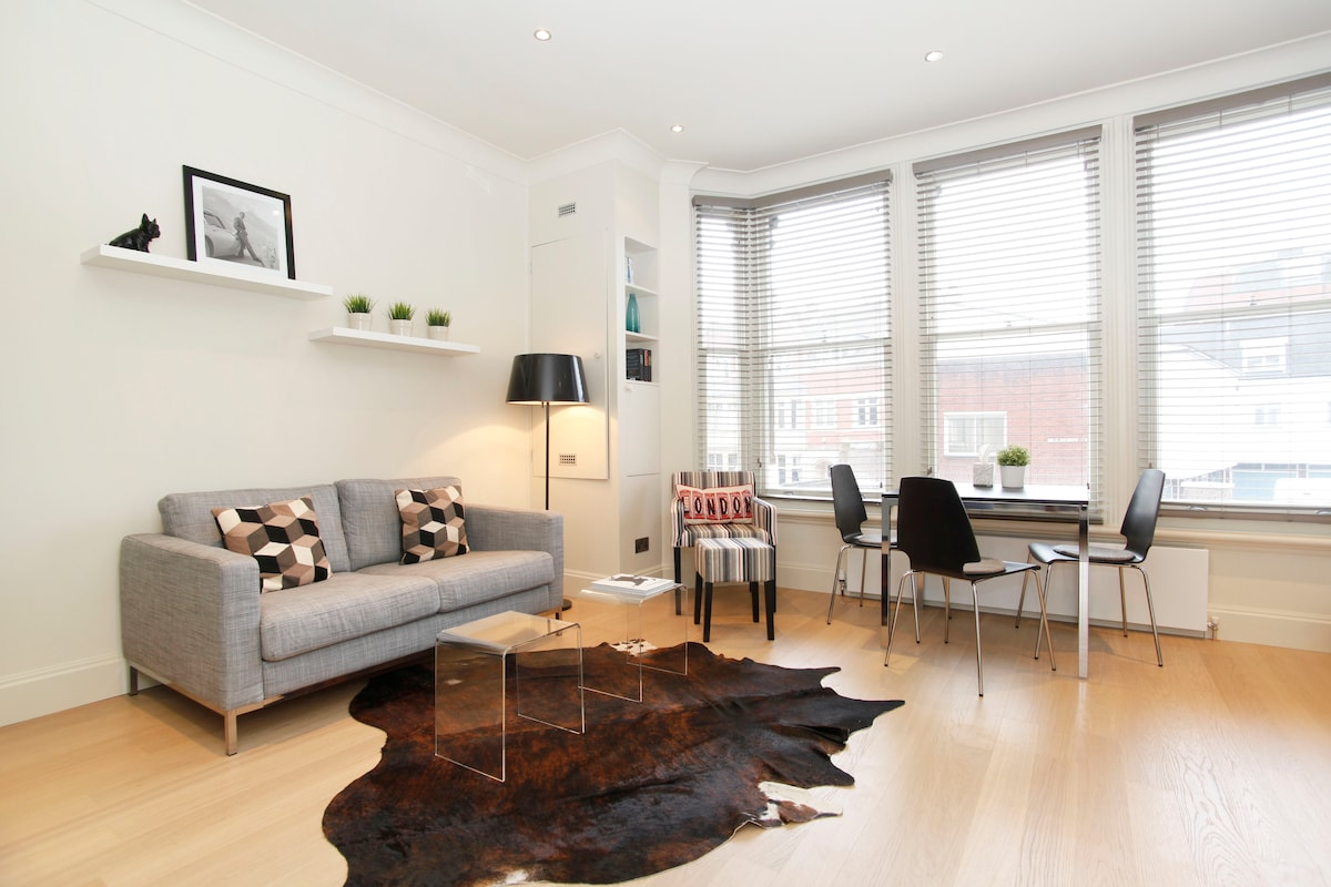 Stylish flat in Hampstead Village