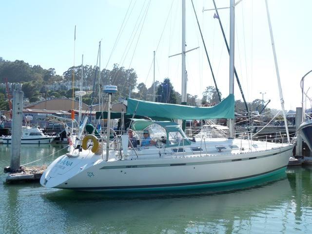 Romantic luxury yacht