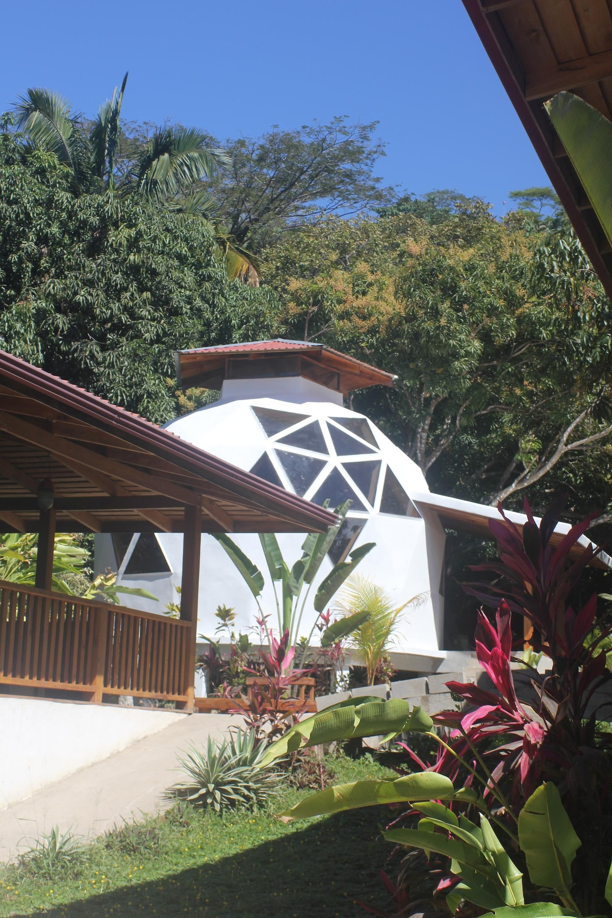 New Domes walking distance for all