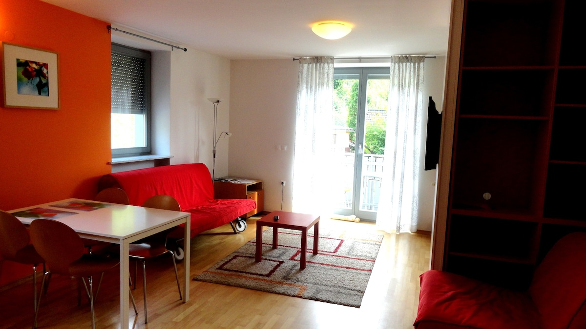 Bright Apt in an old rural area
