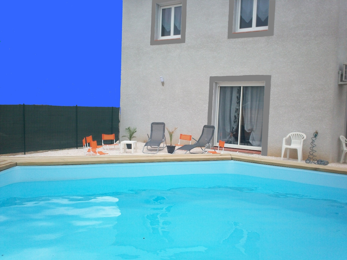 Villa 10 ou 20 Pers+piscine+mer+riv