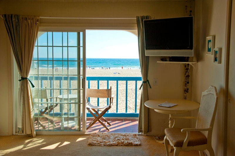 Step into your bedroom and the ocean is right in front of you!