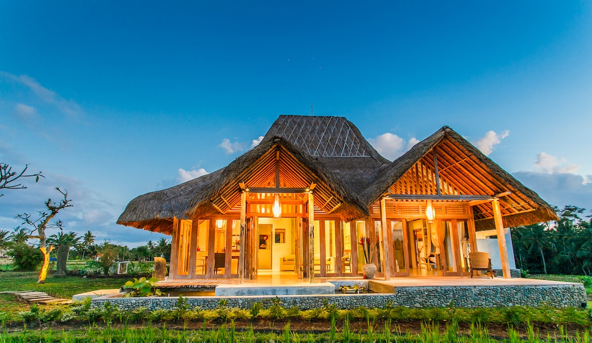 Most elegant design villa in ubud