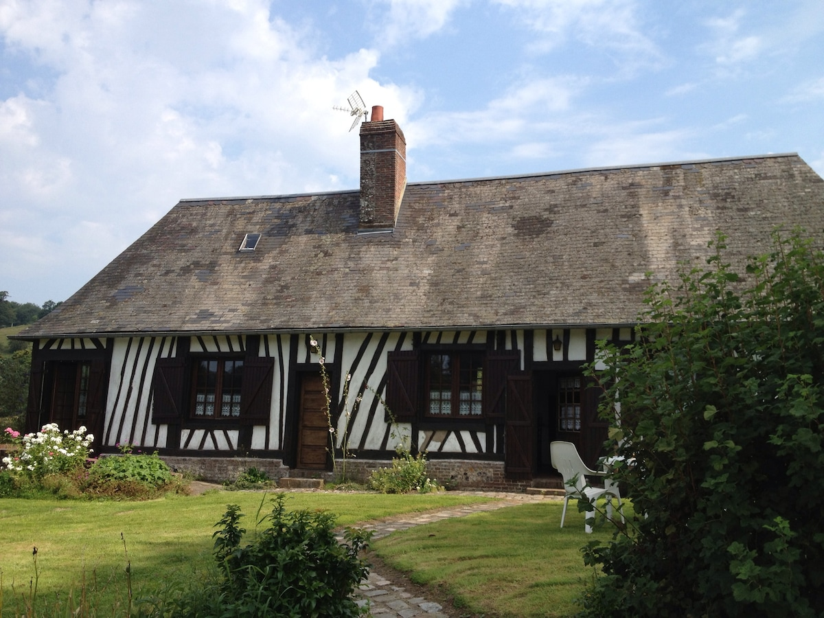 Charming authentic Normandy cottage