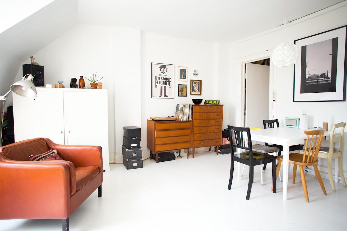 Studio with a real Nørrebro feel
