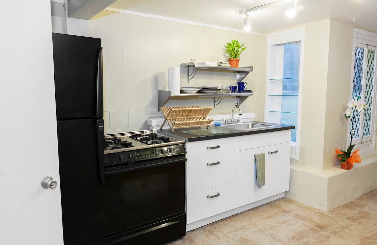 Private 1 BR Apt near Duboce Park